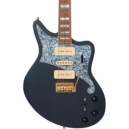 D'Angelico Deluxe Series Bedford Bob Weir Electric Guitar Matte Stone