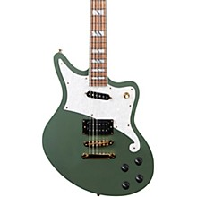 Deluxe Series Bedford Electric Guitar with Stopbar Tailpiece Hunter Green