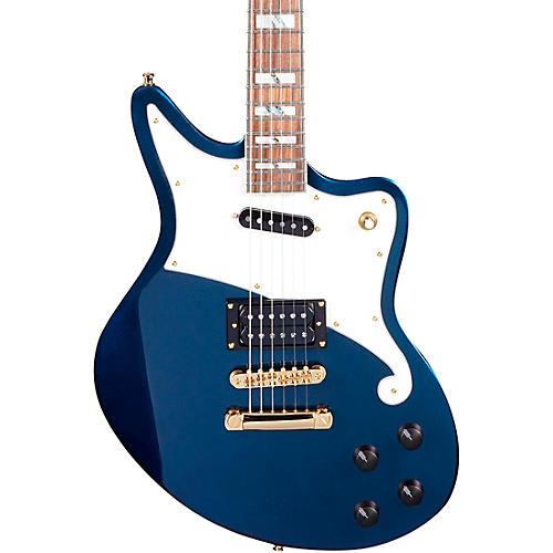 D'Angelico Deluxe Series Bedford Electric Guitar with Stopbar Tailpiece Condition 2 - Blemished Chameleon 190839666468