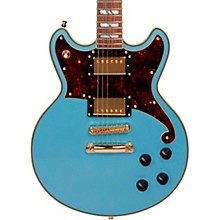 Deluxe Series Brighton Electric Guitar with Stopbar Tailpiece Sonic Blue