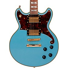 D'Angelico Deluxe Series Brighton Electric Guitar with Stopbar Tailpiece