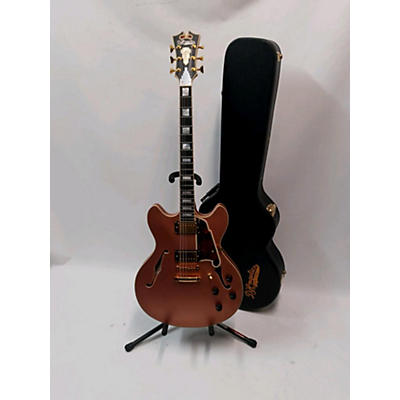 D'Angelico Deluxe Series Double Cutaway Hollow Body Electric Guitar