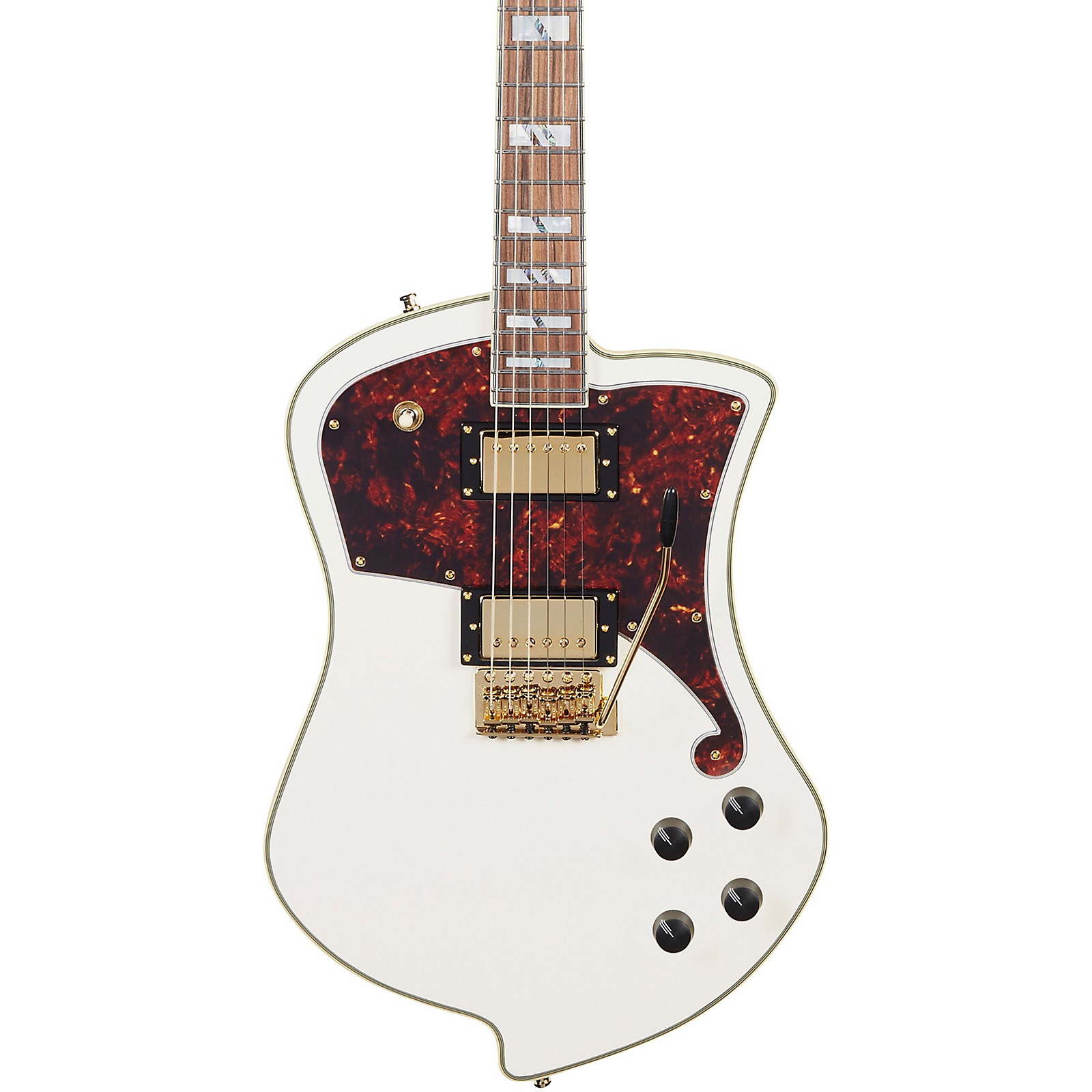 D'Angelico Deluxe Series Ludlow Electric Guitar with Tremolo Tailpiece