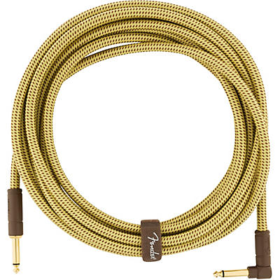 Fender Deluxe Series Straight to Angle Instrument Cable