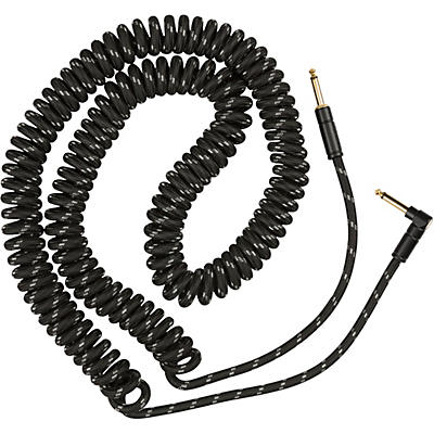 Fender Deluxe Series Straight to Angled Coiled Cable