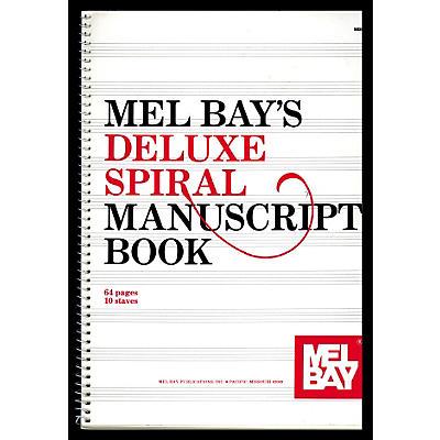 Mel Bay Deluxe Spiral Bound Manuscript Book