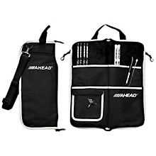 Deluxe Stick Bag Black with Gray Trim