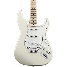 Deluxe Strat Electric Guitar Pearl White Metallic
