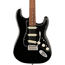 Deluxe Stratocaster Pau Ferro Fingerboard Black