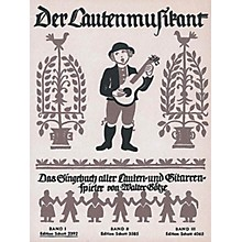 Schott Der Lautenmusikant Band 1 (German Language) Schott Series Softcover