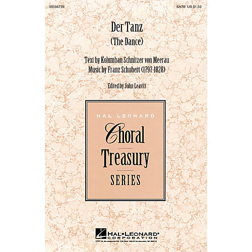 Hal Leonard Der Tanz SATB arranged by John Leavitt