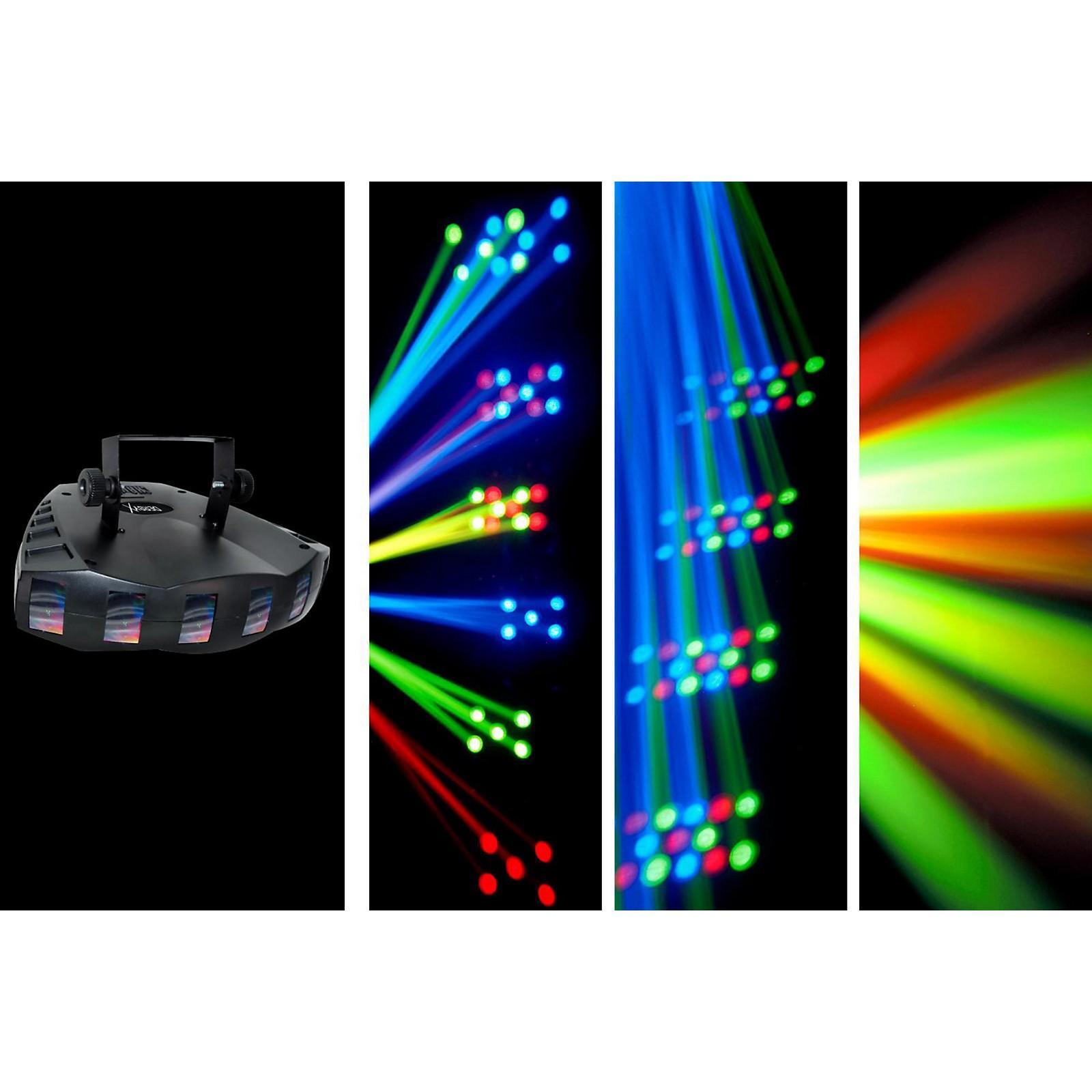 CHAUVET DJ Derby X LED Derby Static/Blackout Effect and Strobe Light