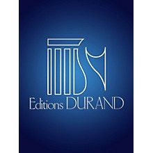 Editions Durand Dernier Poème (Voice and Piano) Editions Durand Series Composed by Francis Poulenc
