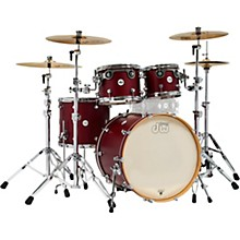 Design Series 4-Piece Shell Pack Dark Cherry Satin