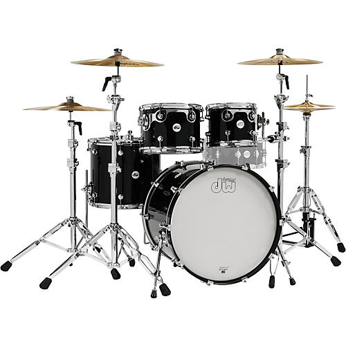 DW Design Series 4-Piece Shell Pack Piano Black