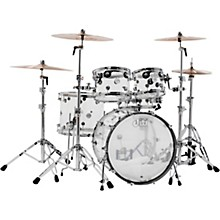DW Design Series Acrylic 5-Piece Shell Pack with Chrome Hardware