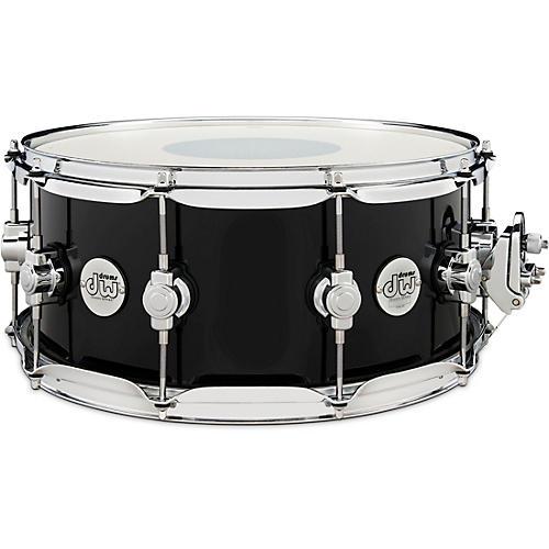 DW Design Series Snare Drum 14 x 6.5 in. Piano Black
