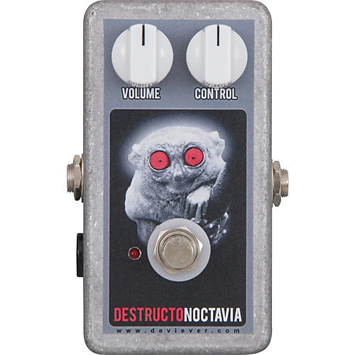 Devi Ever Destructo Noctavia Fuzz Guitar Effects Pedal