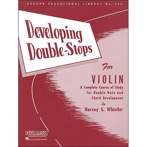 Hal Leonard Developing Double Stops for Violin