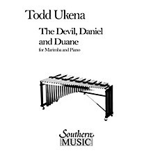 Hal Leonard Devil, Daniel And Duane, The (Percussion Music/Mallet/marimba/vibra) Southern Music Series by Ukena, Todd