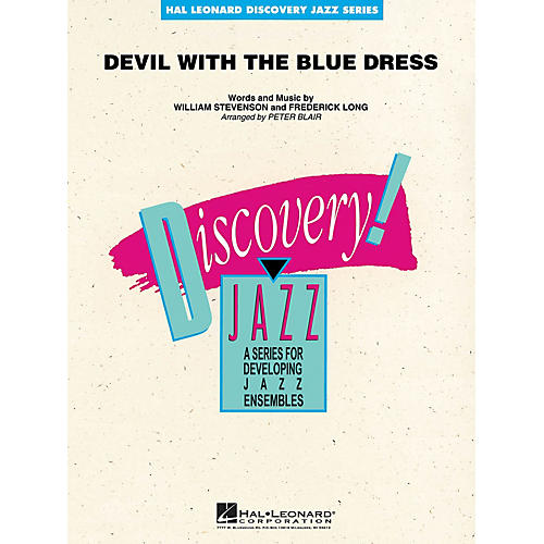 Hal Leonard Devil with the Blue Dress Jazz Band Level 1-2 Arranged by Peter Blair