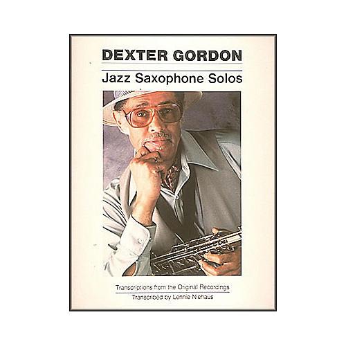 Hal Leonard Dexter Gordon Jazz Saxophone Solos