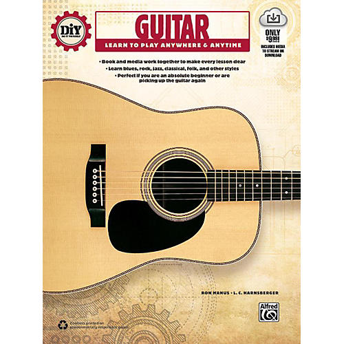 Alfred DiY (Do it Yourself) Guitar Book & Streaming Video