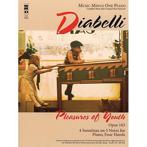 Music Minus One Diabelli - Pleasures of Youth Music Minus One Series Softcover with CD Composed by Anton Diabelli