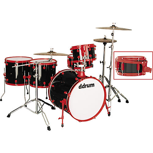 Ddrum Diablo Punx 5-Piece Drum Set with Side Snare Vicious