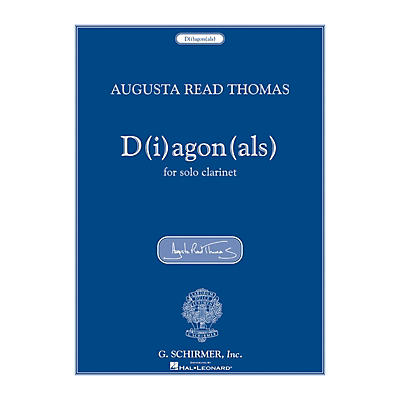 G. Schirmer D(i)agon(als) (for Solo Clarinet) Woodwind Solo Series