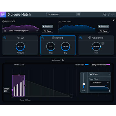 iZotope Dialogue Match: Crossgrade from RX 1-7 Standard (Download)
