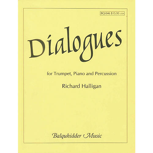 Carl Fischer Dialogues for Trumpet, Piano & Percussion Book