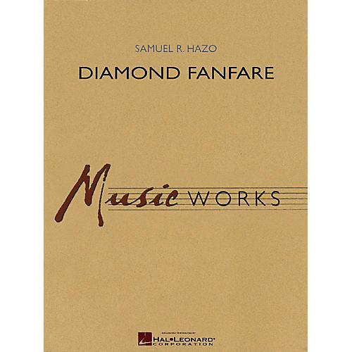 Hal Leonard Diamond Fanfare Concert Band Level 4 Composed by Samuel R. Hazo