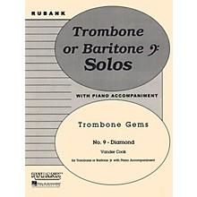 Rubank Publications Diamond (Trombone (Baritone B.C.) Solo with Piano - Grade 3) Rubank Solo/Ensemble Sheet Series