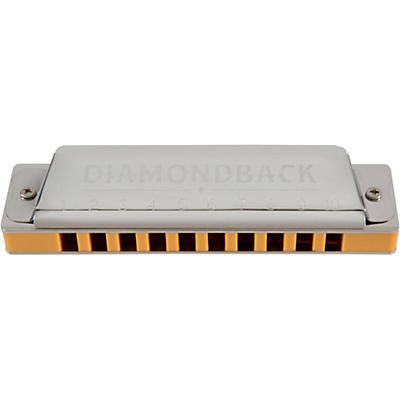Silver Creek Diamondback Harmonica