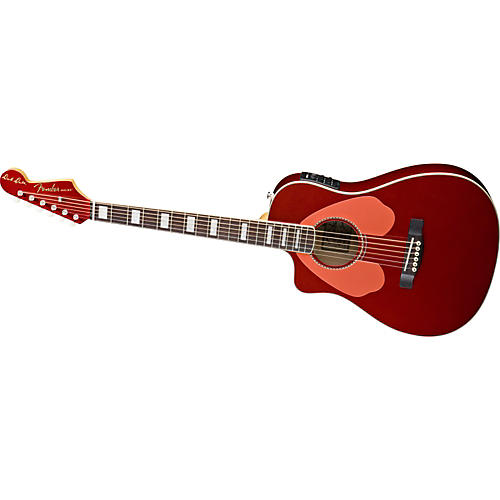 Fender Dick Dale Signature Malibu SCE Left-Handed Acoustic-Electric Guitar
