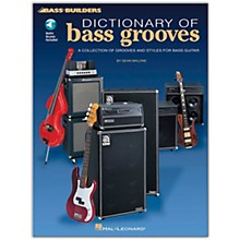 Hal Leonard Dictionary of Bass Grooves (Book/Online Audio)