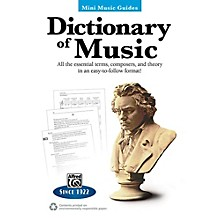 Alfred Dictionary of Music Mini Music Guides Book
