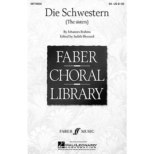 Hal Leonard Die Schwestern (The Sisters) SA arranged by Judith Blezzard