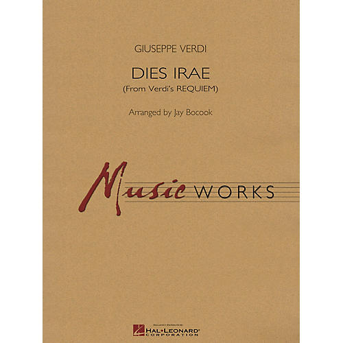 Hal Leonard Dies Irae (From Verdi's Requiem) Concert Band Level 4-6 Arranged by Jay Bocook