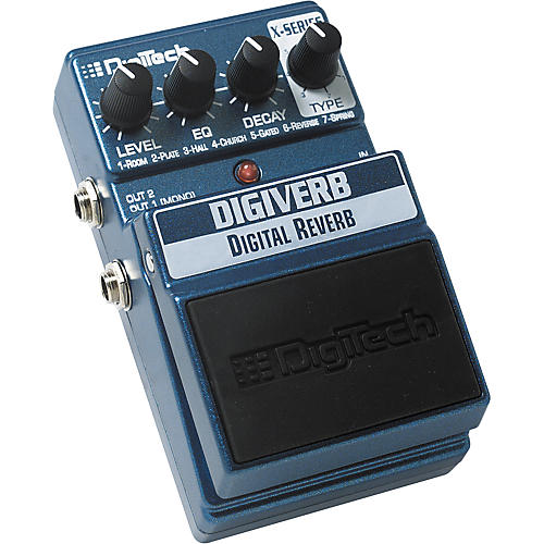 DigiTech DigiVerb Digital Reverb Pedal