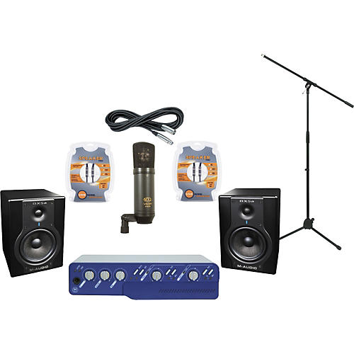 M-Audio Digidesign Mbox 2 and M-Audio BX5a Recording Package