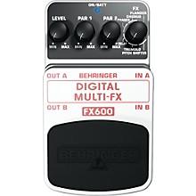 Open BoxBehringer Digital Multi-FX FX600 Guitar Multi-Effects Pedal