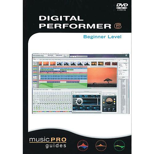 Hal Leonard Digital Performer 6, Beginner Level - Music Pro Guides (DVD)