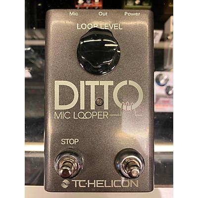 TC Helicon Diito Mic Looper Pedal