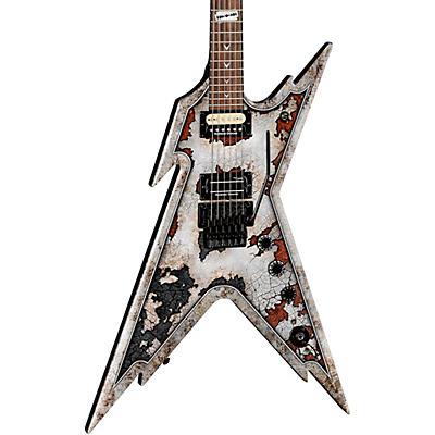 Dean Dime Razorback Rust Electric Guitar with Case