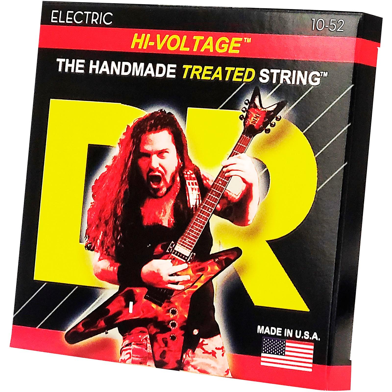 DR Strings Dimebag Darrell DBG-10/52 Medium-Heavy Hi-Voltage Electric Guitar Strings