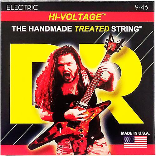 DR Strings Dimebag Darrell Hi-Voltage Electric Guitar Strings Med Lite