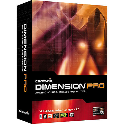 Cakewalk Dimension Pro Virtual Synthesizer Upgrade