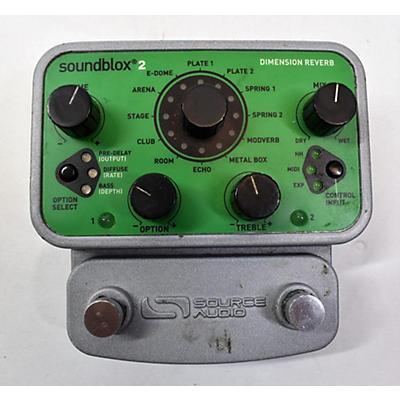 Source Audio Dimension Reverb Effect Pedal